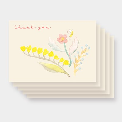 THANK YOU POSTCARD 5장 세트