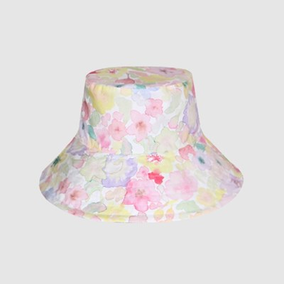 BLOOMING REVERSIBLE BUCKET HAT