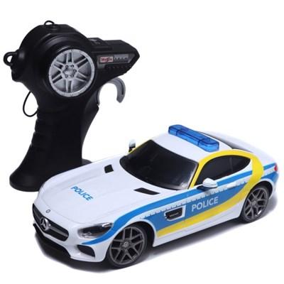 1:24 스케일 Mercedes AMG GT Police 알씨카/무선자동차