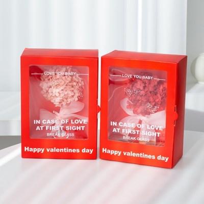 프리저브드 플라워 발렌타인데이 초콜릿 박스