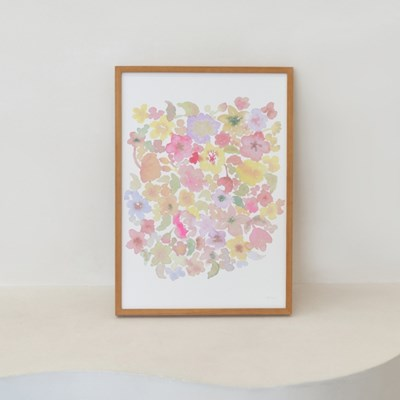 BLOOMING ART PRINT & FRAME