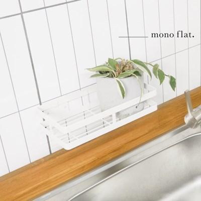 모노플랫 ctrl+v 무타공 다용도 선반 1입 정리선반