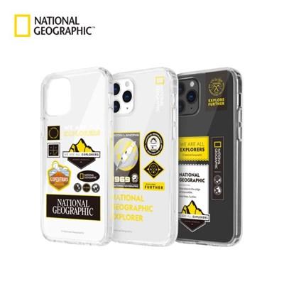 내셔널지오그래픽 아이폰12/노트20 케이스 외 와펜 투명 케이스