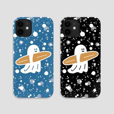 [퍼디] 핸드폰케이스 - 유령서퍼 고디와 별이 빛나는 밤