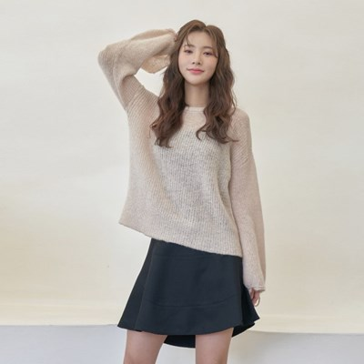 AGATHA SWEATER IN PEACH PARFAIT
