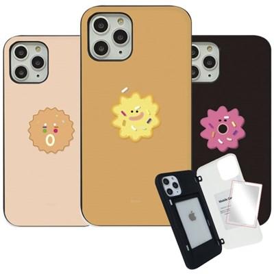 WK 쿠키앤쿠키 마그네틱 도어 범퍼 미러 카드 핸드폰 케이스