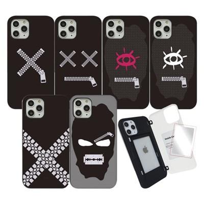 WK 지퍼 마그네틱 도어 범퍼 미러 카드 핸드폰 스마트폰 케이스