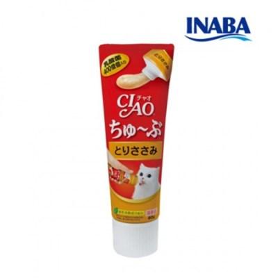 이나바 챠오츄브 닭고기 80g CS-153
