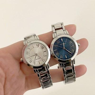 클래식 메탈 손목 시계