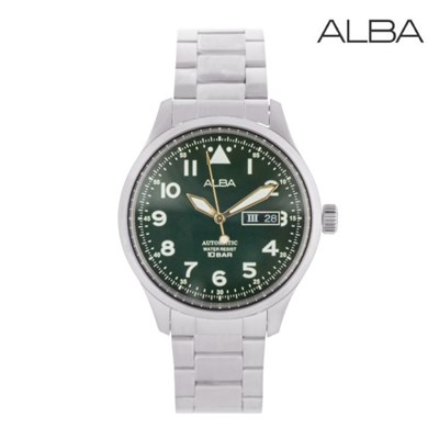 세이코 알바 오토매틱 남성 메탈 손목시계 AL4199