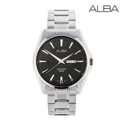 세이코 알바 정품 남성 방수 메탈 손목시계 AJ6101
