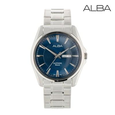 세이코 알바 정품 남성 방수 메탈 손목시계 AJ6099