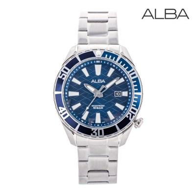 세이코 알바 정품 남성 방수 메탈 손목시계 AG8K31