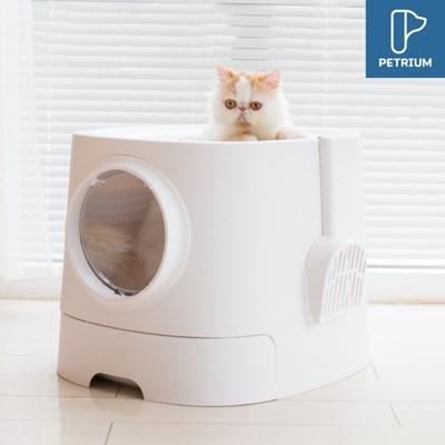 펫트리움 고양이 탑도어 화장실 서랍형 1입 고양이화장