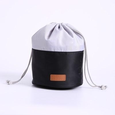 PH 여행용 원통형 목욕백 화장품 파우치