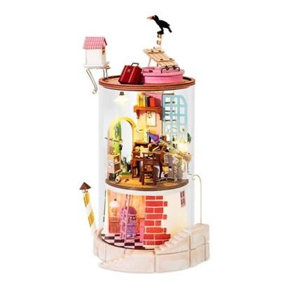 DS003 마녀의 집  (DIY Glass Miniature Dollhouse) 로보타임