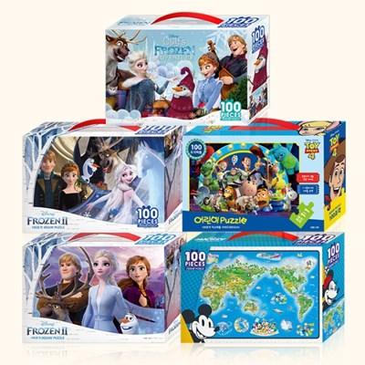어린이 디즈니 퍼즐 100pcs 모음