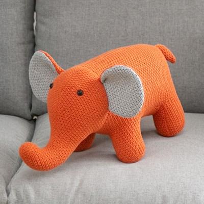 아티슈슈 주황 코끼리 인형