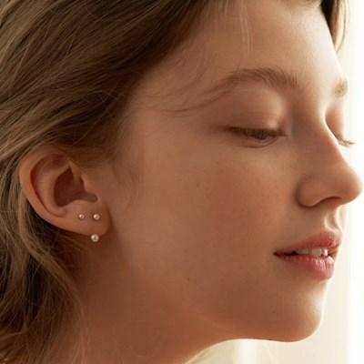 [실버925][2세트] 진주 이어재킷 귀걸이 세트_SE0142