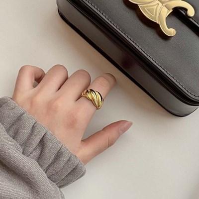 (silver 92.5) 프렌치 볼드 반지