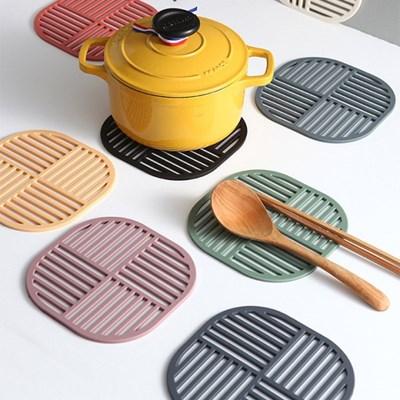 푸코 스쿼드 실리콘 냄비받침 (8colors)_(2142429)