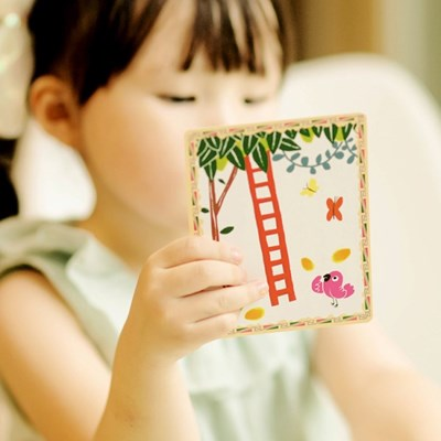 [이부] 화산섬 스토리텔링 카드 / 3세이상