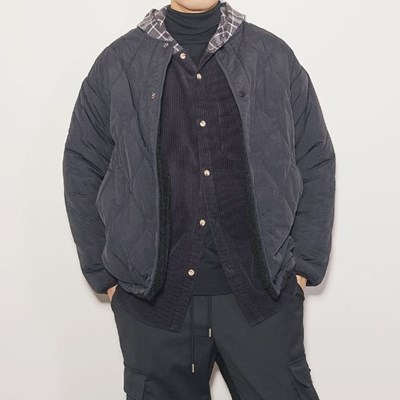 보아털 리버시블 양면 자켓 3color
