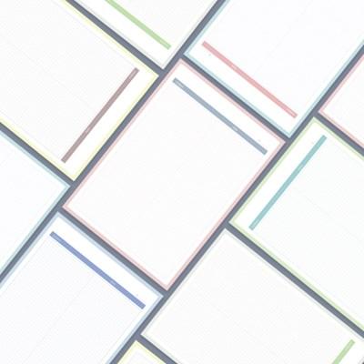 톡톡한 100매 B5 모눈 메모지 | 심플 떡메 공시생떡메 노트패드