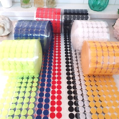 원형컷팅 사용이 편리한 대용량 벨크로 찍찍이 까슬이 보슬이