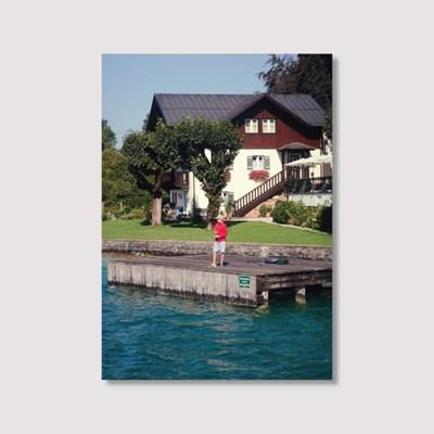 The boy on the lake - Jitten 인테리어 포스터