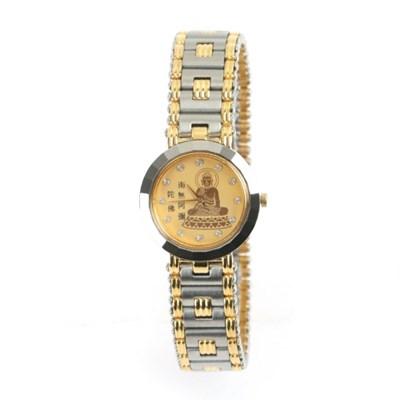 부처님 불교 불자시계 메탈 여성 손목시계 AB9706F