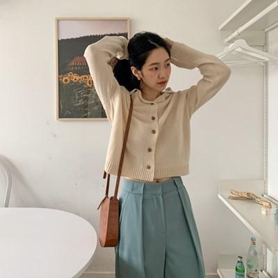 미니 카라니트가디건 (3color)