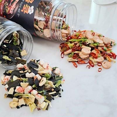 맛있는 해물 야채 라면 토핑 후레이크 해물쿡 매콤쿡_(488518)