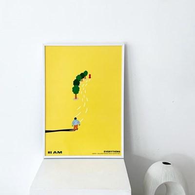 [KEEERI x BFMA] EVERYTHING 포스터 A4-I AM