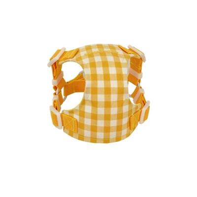 Classic check harness (yellow)