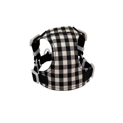 Classic check harness (black)