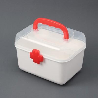 투명커버 구급함 / 비상 응급 약상자