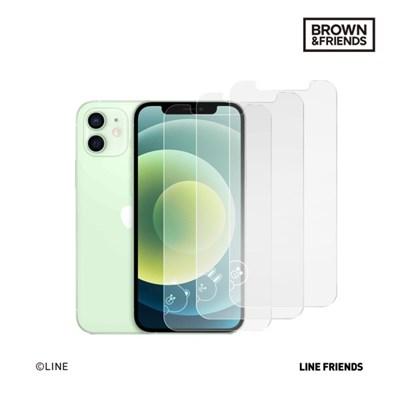 브라운앤프렌즈 아이폰12 미니 항균 강화유리 액정보호 필름