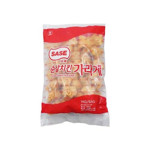 냉동 사세 순살치킨가라아게 1kg/치킨/치킨텐더/술안주/간식