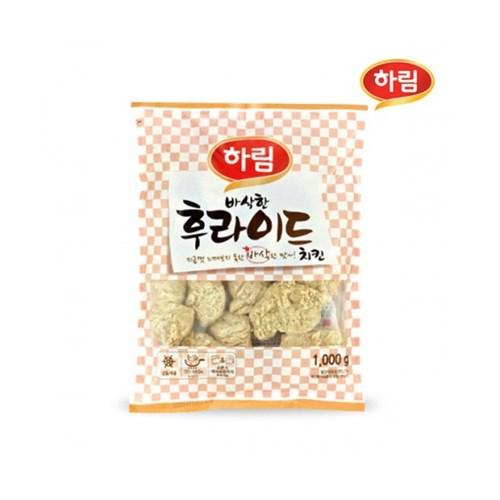 냉동 하림 바삭한 후라이드치킨 1kg_(2598795)