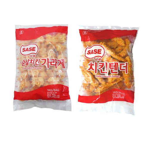 냉동 사세 치킨덴더/가라아게 1kg 택_(2598794)
