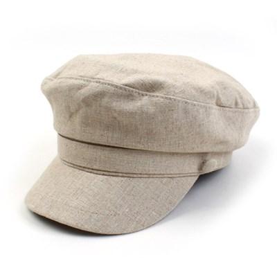Linen Beige Line Marine Cap 린넨마린캡