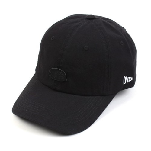 Black Bubble Washing Black Ballcap 워싱볼캡