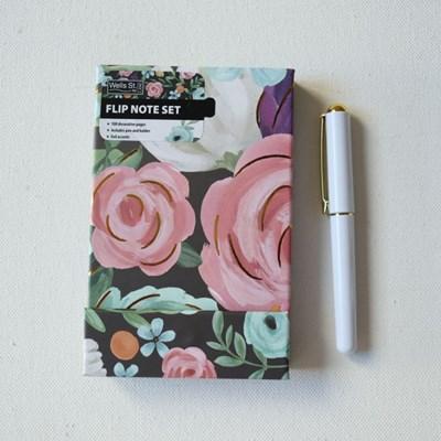 Lang Eliza todd작가그림 플렉스저널 노트(shphisticated florals)