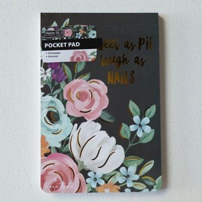 Lang Eliza todd작가그림 포켓패드 메모패드(shphisticated florals)