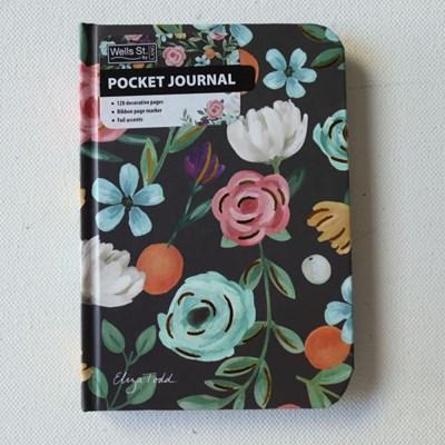 Lang Eliza todd작가그림 포켓저널(shphisticated florals)