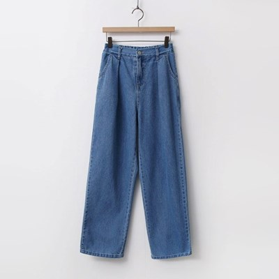 Tom Pintuck Wide Jeans