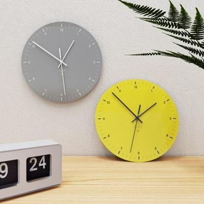 2021팬톤컬러 무소음벽시계
