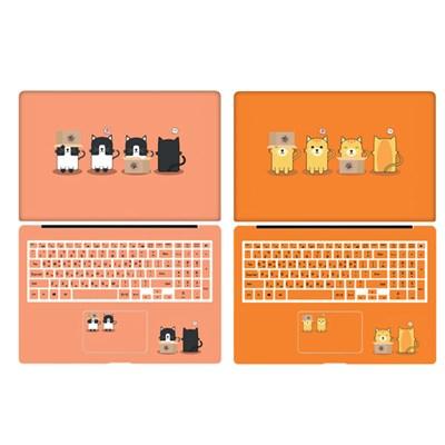 D 삼성 노트북7 NT750XBE 일러스트 디자인 노트북 스킨