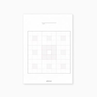 만다라트 플랜 속지 A5 (2장)